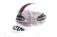 "Vintage Cotton Race Cap ""Molteni"" - Set"