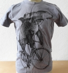 Hammerhead Shark on the bicycle T-Shirt